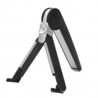 Universal Folding Desktop TrIpod Stand w/ Suction Cup for Iphone / Ipad - Black + White