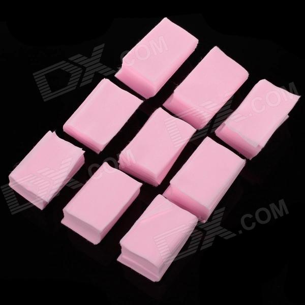 High Quality Soft Wash Nail Cotton Pad - Pink (650 PCS) z axis 40x40mm centre vertical precision linear stage cross roller bearing
