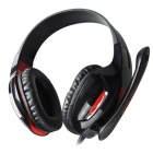 SADES SA-808 USB Gaming Headphones Headset - Black + Red (210cm-Cable)