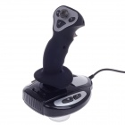 DILONG P3950 USB 2.0 Wired Flight Joystick for Computer / PS3 - Black + Silver