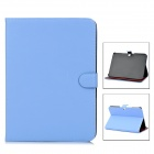 Protective PU Leather Case for Samsung Galaxy Tab 3 P5200 - Light Blue