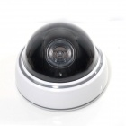 e-J RL-023 High Simulation Dummy Surveillance Camera with Red LED Light - White + Black (3 x AA)