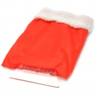 Christmas Style Cloth + Cotton + ABS Snow Shovel for Car - Red + White
