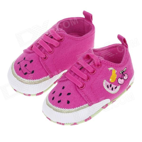 Sweet Fruit Pattern Baby Shoes Multicolored 9 12 Months