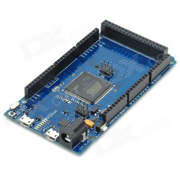 Due learning microcontroller board compatible with arduino