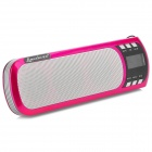 Liweek IF135 Portable Mini Speaker w/ TF / USB / FM Radio - Fuchsia