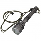 SingFire SF-319 Cree XM-L T6 600lm 5-Mode White Flashlight for Hunting - Brownish Grey (2 x 18650)