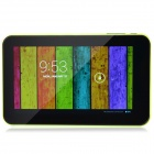 "A70Xh 7"" Dual-Core Android 4.2.2 Tablet PC w/ 512MB RAM, 4GB ROM, HDMI, Dual-Camera - Black + Green"