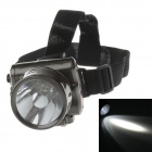 YAJIA YJ-1829-1 Rechargeable 1-LED 100lm 1-Mode White Light Headlamp for Hunting + More - Black