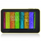 A70Xh Dual Core Android 4.2.2 Tablet PC w/ 512MB RAM, 4GB ROM, TF, HDMI, Wi-Fi - Black + Yellow