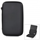 "Protective PU + EVA Case Bag w/ Stand + Built-in Amplifier for 7"" Tablets - Black"