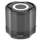 KUBEI 290 Wireless Bluetooth V3.0 Speaker w/ FM Radio - Black