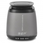 Aoyunsheng BT-108 Bluetooth V3.0 Speaker w/ Microphone - Black + Grey