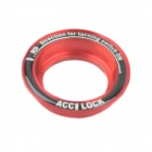 Luminous Ring Glow-in-the-Dark Key Ignition Ring for Ford Focus - Red + Black