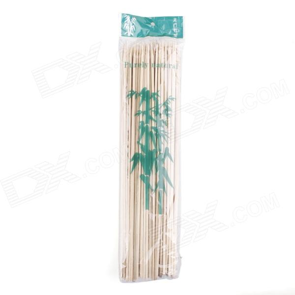 Outdoor BBQ Bamboo Skewers - Wood (86 PCS)