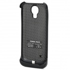 External 3500mAh Power Battery Charger Back Case for Samsung Galaxy S4 Mini i9190 - Black