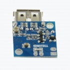 DC to DC Boost PCB Module for Mobile Charger Power Supply - Blue