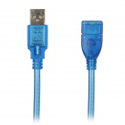 USB 2.0 Male to Female OTG Extension Cable - Blue (150cm)