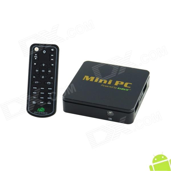 CS828 Android 4.0 Mini PC Google TV Player w/ 1GB RAM /  4GB ROM / HDMI / H.264 - Black