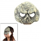 Halloween Horrible 3/4 Skull Mask - Coyote Tan