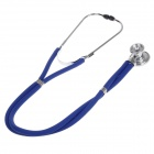 DENG GUAN Multifunctional Professional Stethoscope - Blue + Silver
