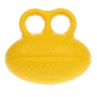 J&X Hand PU Elastic Stress Ball - Yellow