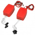 CCFL Power Converter Adapter - Red (2 PCS)