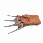 Halloween Wolf Claw Glove - Brown + Coffee + Grey