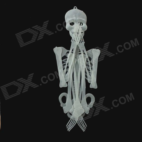 90cm Halloween Glow-in-the-Dark Skeleton - Green