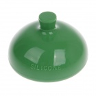 J&X High Quality Silicone Push Sputum Cup - Green