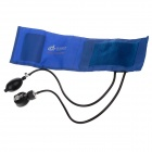 DENGGUAN Medical Aneroid Sphygmomanometer / Blood Pressure Kit - Blue + Black