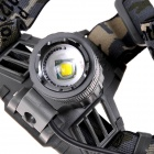 KX-T5 550lm 3-Mode White Dimming Zooming Headlamp w/ XM-L U2 - Grey (2 x 18650)
