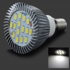 TZY E2 E14 6W 450lm 6500K 16-SMD 5630 LED White Light Lamp Bulb - White (AC 220~240V)
