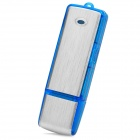 LYB-V01-LANSE USB Voice Recorder - Blue + Silver (4GB)