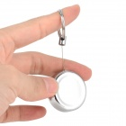 ZW Retractable  Anti lost Key Keychain - Silver