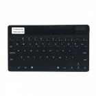 Mini Bluetooth V3.0 Ultra-Thin 59-Key Keyboard for Ipad / Ipad 2 / Tablet PC / Smartphone - Black