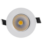 ZY-0901-003 3W 240LM 3000K 1- LED Warm White Ceiling Down Light
