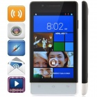 "4.2.2 WCDMA Bar H3039 MTK6572 Dual-Core Android Phone w / 4.0 ""/ GPS / Wi-Fi / FM - Noir + Gris"
