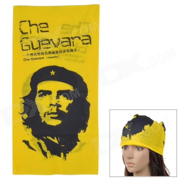 Free Soldier 1537 Outdoor Sports Quick Drying Magic Head Scarf - Yellow + Black