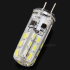 2w 130lm 7000k White Light 3014 SMD White Light LED Bead for Crystal Lamp - White