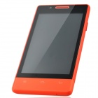 "H3039 MTK6572 Dual-Core Android 4.2.2 WCDMA Bar Phone w/ 4.0"" Capacitive / GPS / Wi-Fi / FM - Red"
