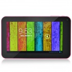 "A70Xh 7 ""Dual Core Android 4.2.2 Tablet PC ж / 512 Мб ОЗУ, 4 Гб ROM, Wi-Fi, TF, HDMI - черный + розовый"