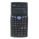 "KDT DM-82MS 2.5 ""Screen 11-Digits Funktion Scientific Calculator - Grau + Royal Blue (2 x LR44)"