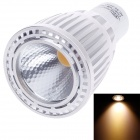 Ziyu ZY-0812-007 GU10 7W 560LM 3000K Warm White Light LED Lampe - Silber + Weiß (85-265V)