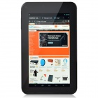 "A70Xh 7"" Dual Core Android 4.2.2 Tablet PC w/ 512MB RAM, 4GB ROM, Dual Camera, HDMI, Wi-Fi - Black"