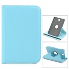 Protective PU Leather Case Cover Stand for Samsung Galaxy Note 8.0 N5100 / N5110 - Sky Blue