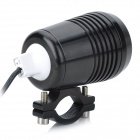 15W 300lm Waterproof 3-Mode White Light Motorcycle LED Bulb - Black