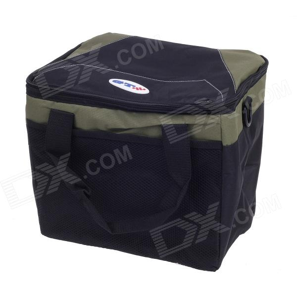 CARFU AC-2783 Multifunction Outdoor Picnic Warm / Fresh / Cold Food Keeping Storage Handbag - Black keith titanium lunch boxes set 3 pcs in 1 outdoor camping ultralight bowl with lid picnic fresh food keeping boxes ti5378