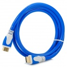 HDMI Male to Male 1080P Cable for TVs / DVD / PS3 + More - Blue + White (1.5m)