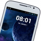 "4.2.2 WCDMA Bar DOOGEE VOYAGER DG300 MTK6572 Dual-Core Android Phone w / 5.0 ""IPS, FM et GPS - Blanc"